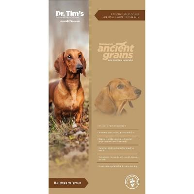 Dr. Tim's Heirloom Ancient Grains Chicken Premium Dry Dog Food