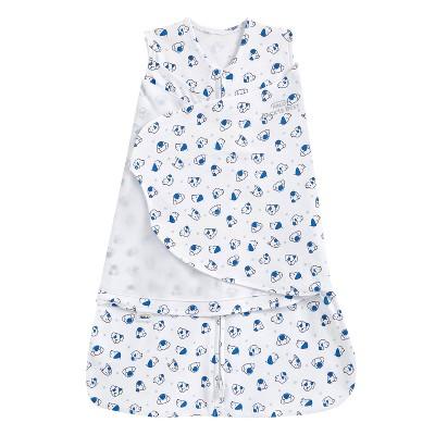 HALO Innovations Sleepsack 100% Cotton Swaddle Wrap - Doggy S