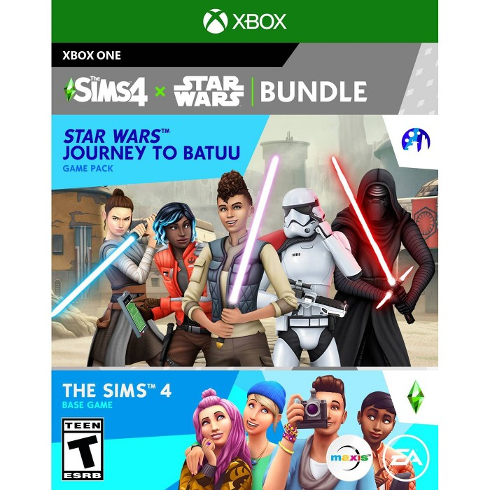 The Sims 4 + Star Wars Journey To Batuu Bundle - Xbox One : Target