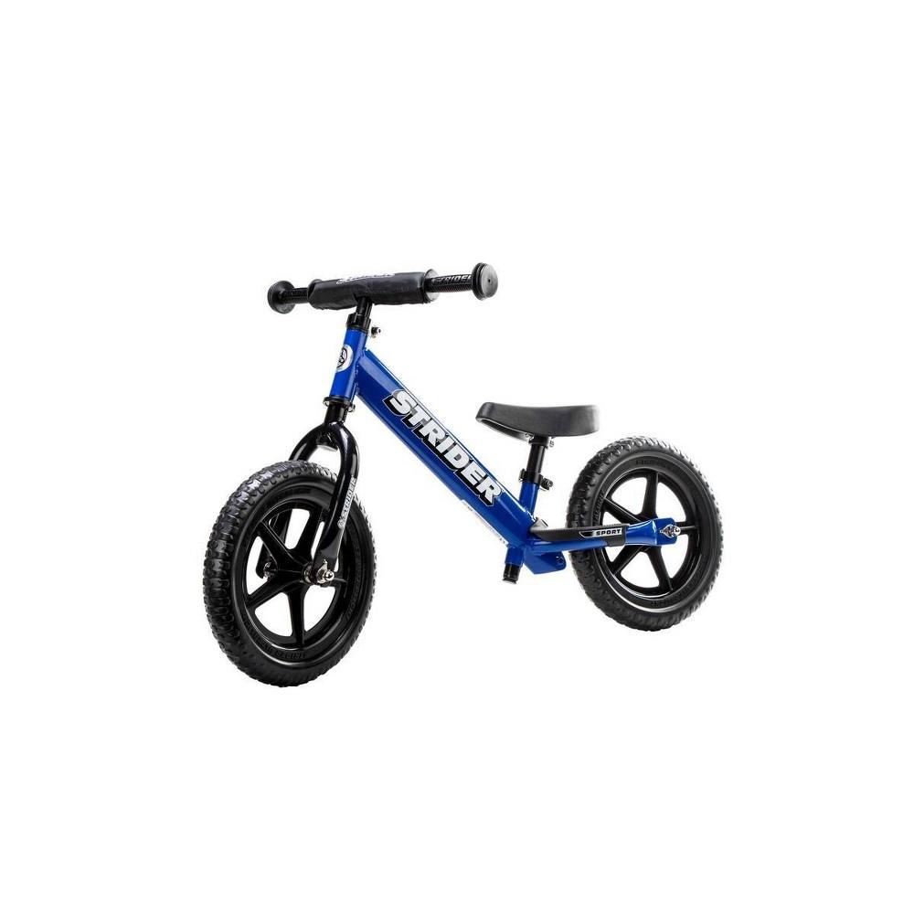 Strider Sport 12 34 Kids 39 Balance Bike Blue