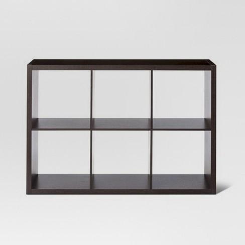 6 Cube Organizer Shelf 13 Threshold