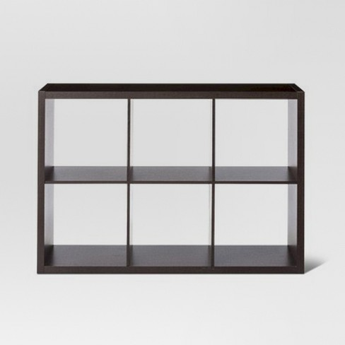 "6-Cube Organizer Shelf 13"" - Threshold™ - image 1 of 4"