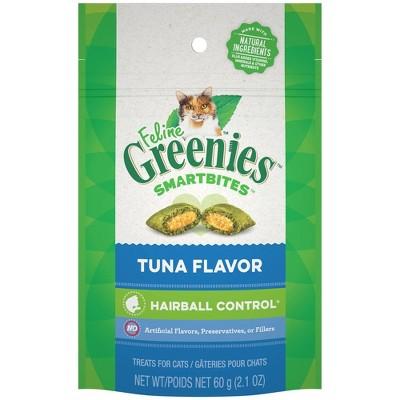 Greenies Smartbites Hairball Tuna Cat Treat - 2.1oz