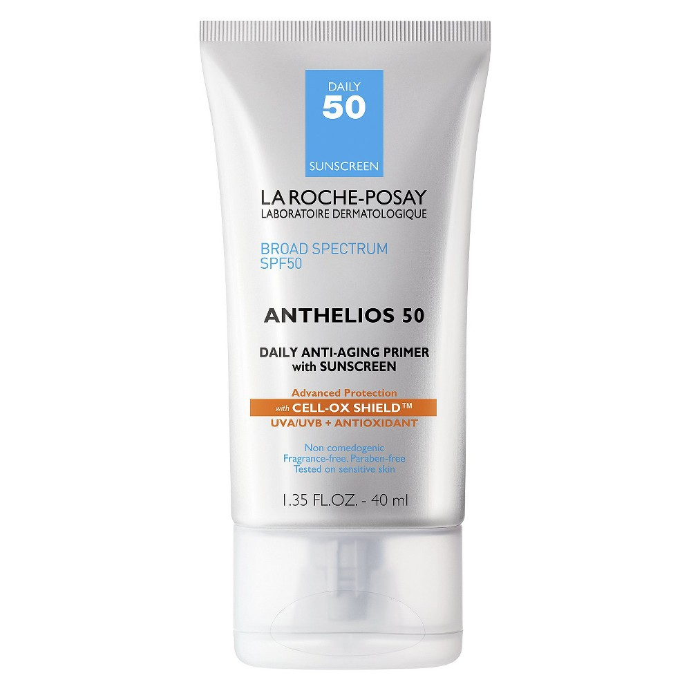 Image of La Roche Posay Anthelios Daily Anti-Aging Face Primer with Sunscreen SPF 50 - 1.35oz
