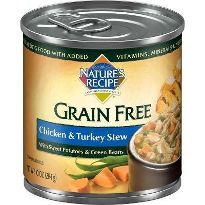 Nature's Recipe Grain Free Wet Dog Food - 10oz