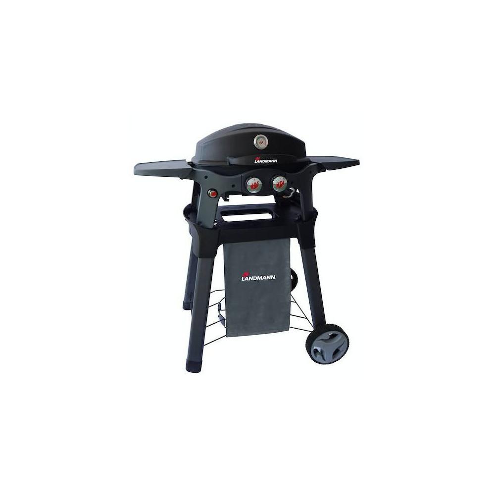 Best Price Pantera Grill Cart Black Landmann