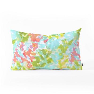 "23""x14"" Jacqueline Maldonado Intuition Wild and Free Lumbar Throw Pillow - Deny Designs"