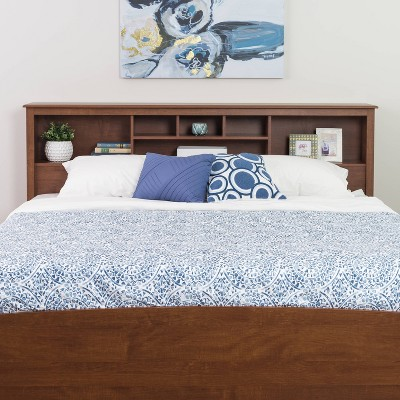 Bookcase Headboard - King - Prepac