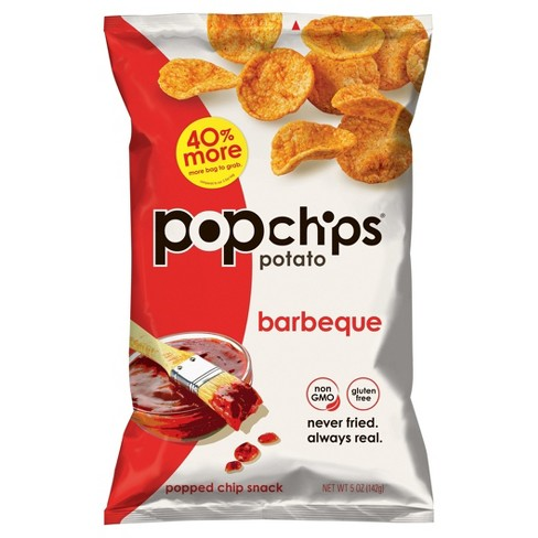 Popchips Barbeque Potato Popped Chip Snack - 5oz - image 1 of 5
