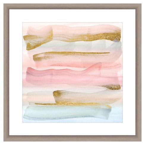 Pastel Paint Brushes Ii 18X18 Wall Art - image 1 of 1