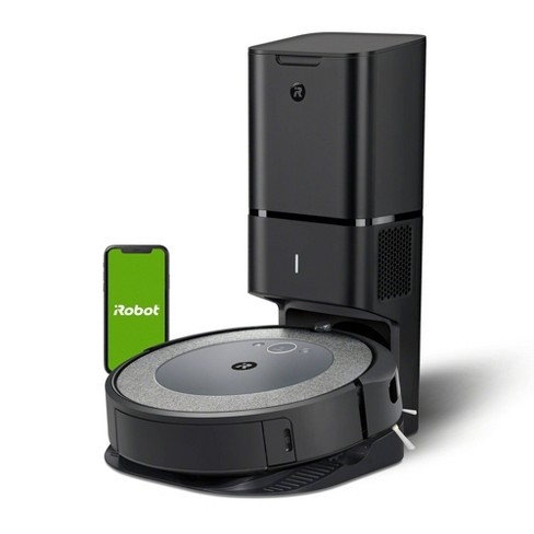 iRobot Roomba i3+ Wi-Fi Connected Robot Vacuum with Automatic Dirt Disposal – 3550 - image 1 of 4