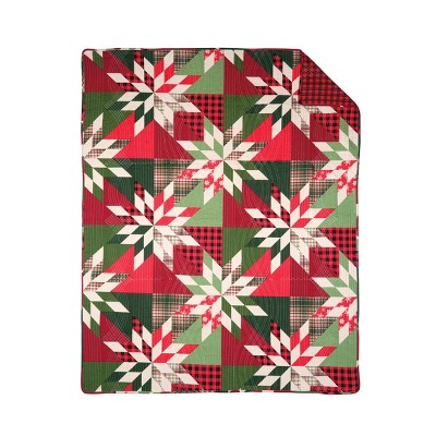 """C&F Home Northlyn Cotton Quilted 48"""" x 60"""" Throw Blanket"""