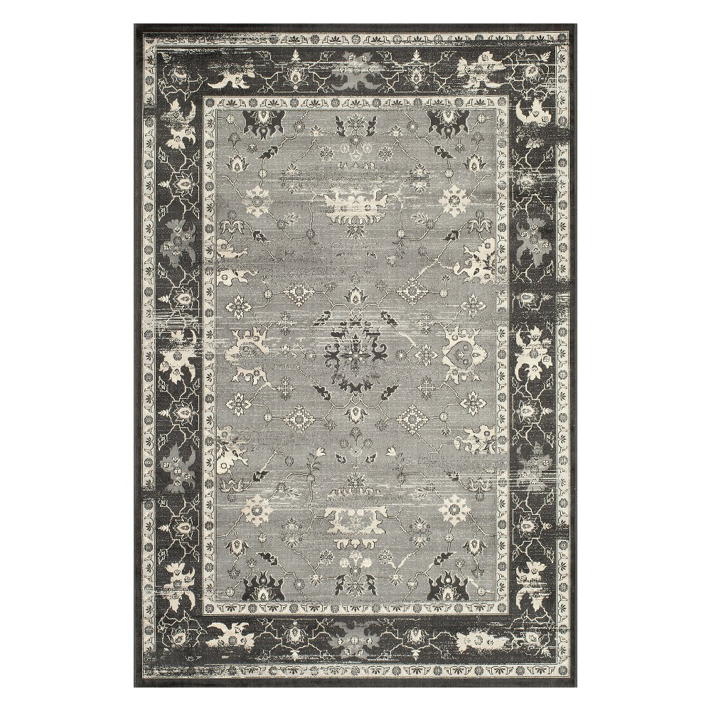 Holly Loomed Accent Rug Charcoal