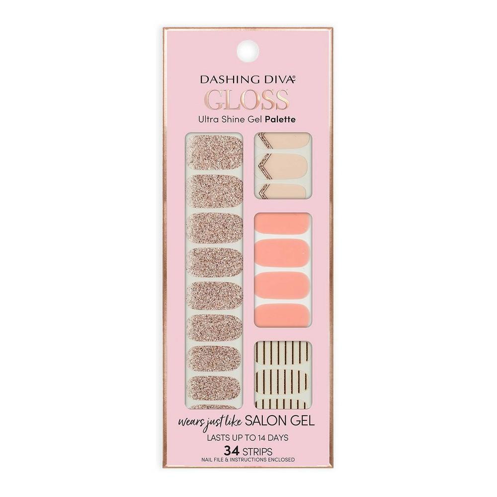 Image of Dashing Diva Gloss Ultra Shine Gel Palette - In the Blush