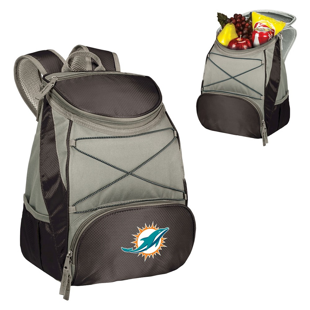 Miami Dolphins Ptx Backpack Cooler By Picnic Time