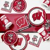 20ct University of Wisconsin Badgers Cocktail Beverage Napkins - NCAA - image 2 of 2
