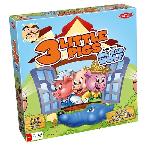 Tactic 3 Little Pigs Board Game - image 1 of 4