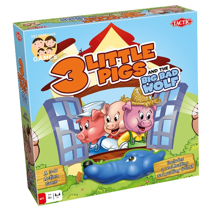 Tactic 3 Little Pigs Board Game : Target