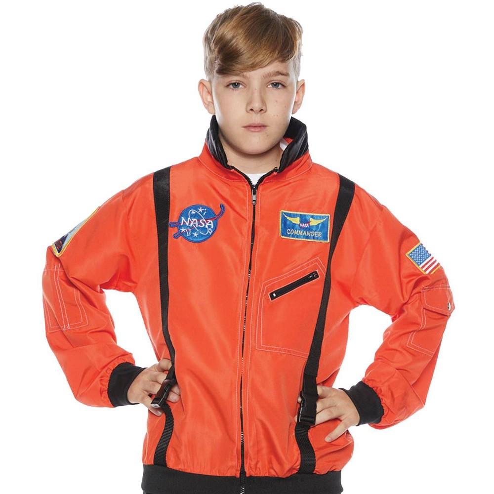 Kids 39 Astro Jacket Orange Halloween Costume L