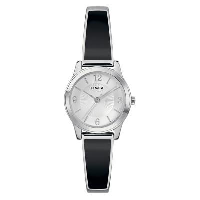 Women's Timex Stretch Bangle Watch - Black TW2R92700JT