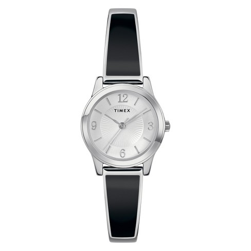 Women's Timex Stretch Bangle Watch - Black TW2R92700JT - image 1 of 3