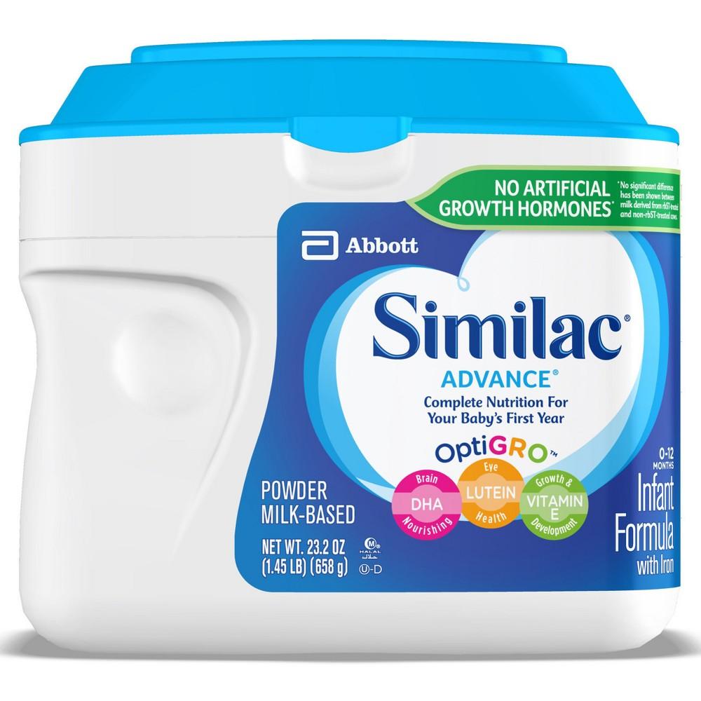 Similac 6pk Advance Infant Formula Powder with Iron - 23.2oz