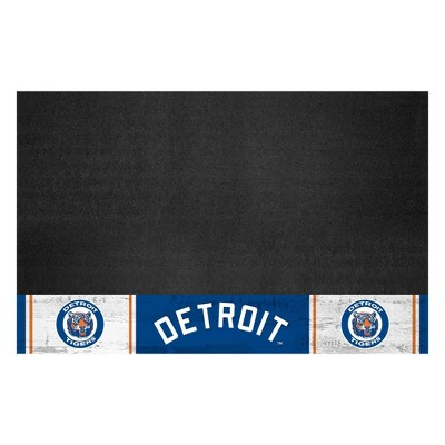 """MLB Detroit Tigers 1964 Retro Collection 26""""x42"""" Grill Mat"""