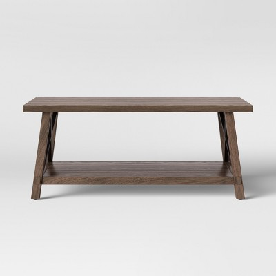 Bourne Coffee Table Brown - Threshold™
