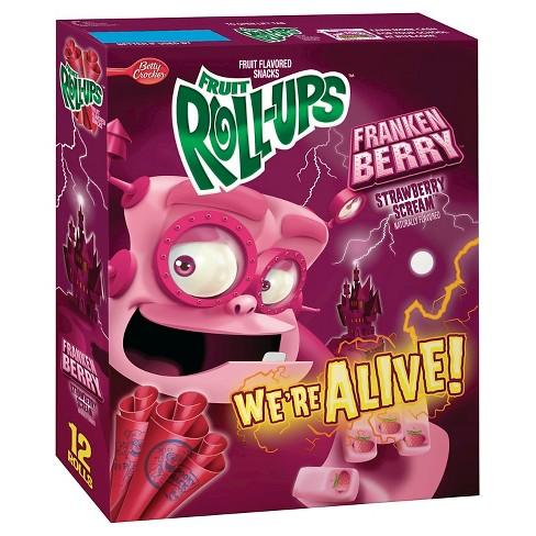 Fruit Roll Ups Fraken Berry Fruit Snacks 12ct Target