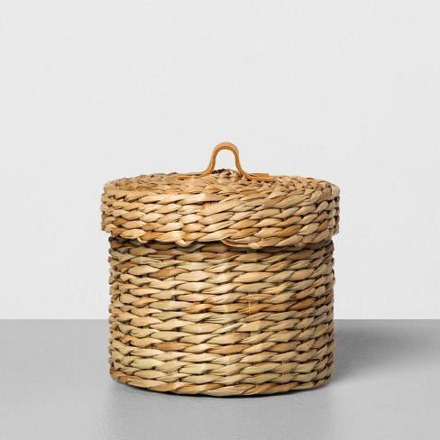 Woven Bath Storage Canister - Hearth & Hand™ with Magnolia - image 1 of 4