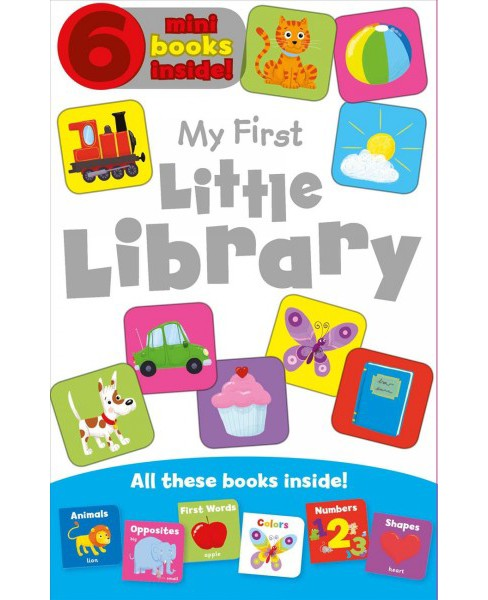 My First Little Library -  (Hardcover) - image 1 of 1