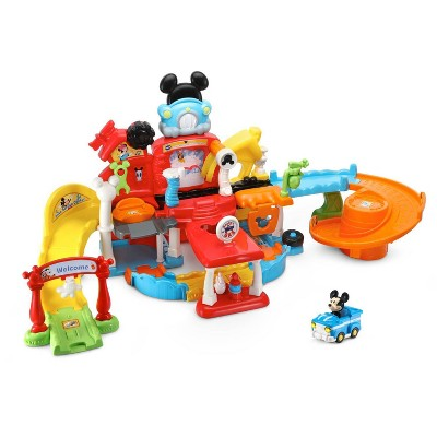 VTech Go! Go! Smart Wheels Disney Mickey Mouse Gas & Go Repair Shop