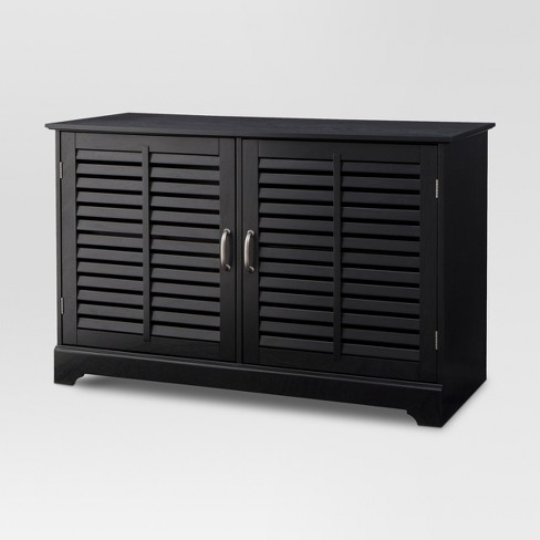 Shuttered Door TV Stand - Threshold™ - image 1 of 4