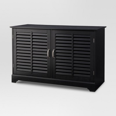 Shuttered Door TV Stand   Threshold™