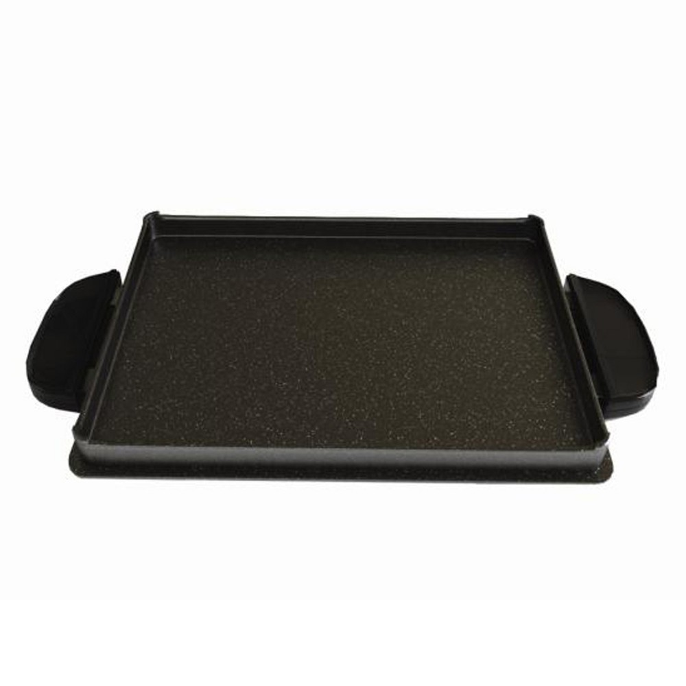 Image of George Foreman Griddle Plate - Black GFP84GP