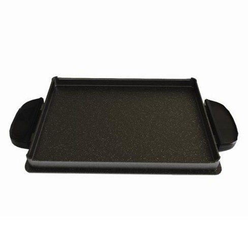 George Foreman Griddle Plate - Black GFP84GP - image 1 of 2