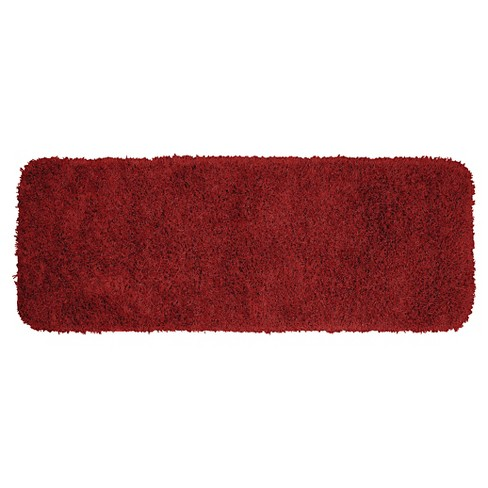 Jazz Shaggy Solid Washable Nylon Bath Runner - Garland Rug® - image 1 of 1
