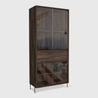 Page Pantry Cabinet Brown - RST Brands
