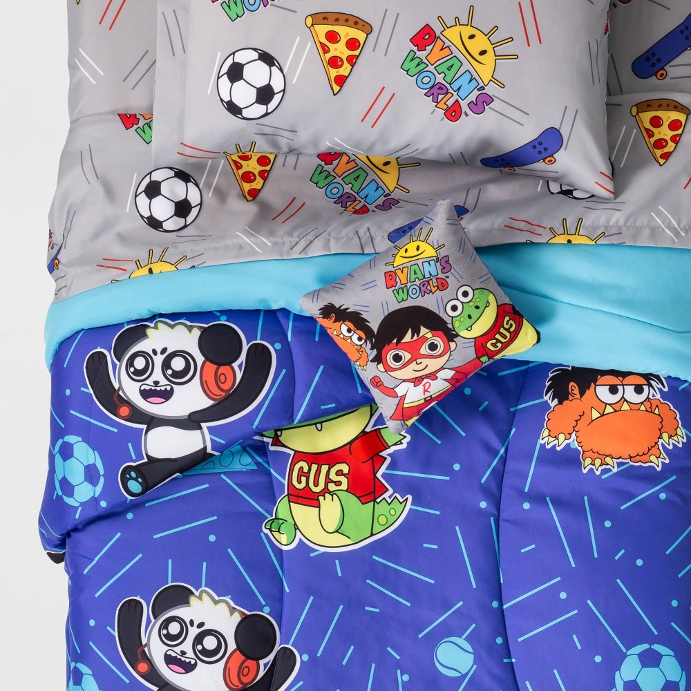 Image of Ryan's World Twin Bed in A Bag Bedding Set