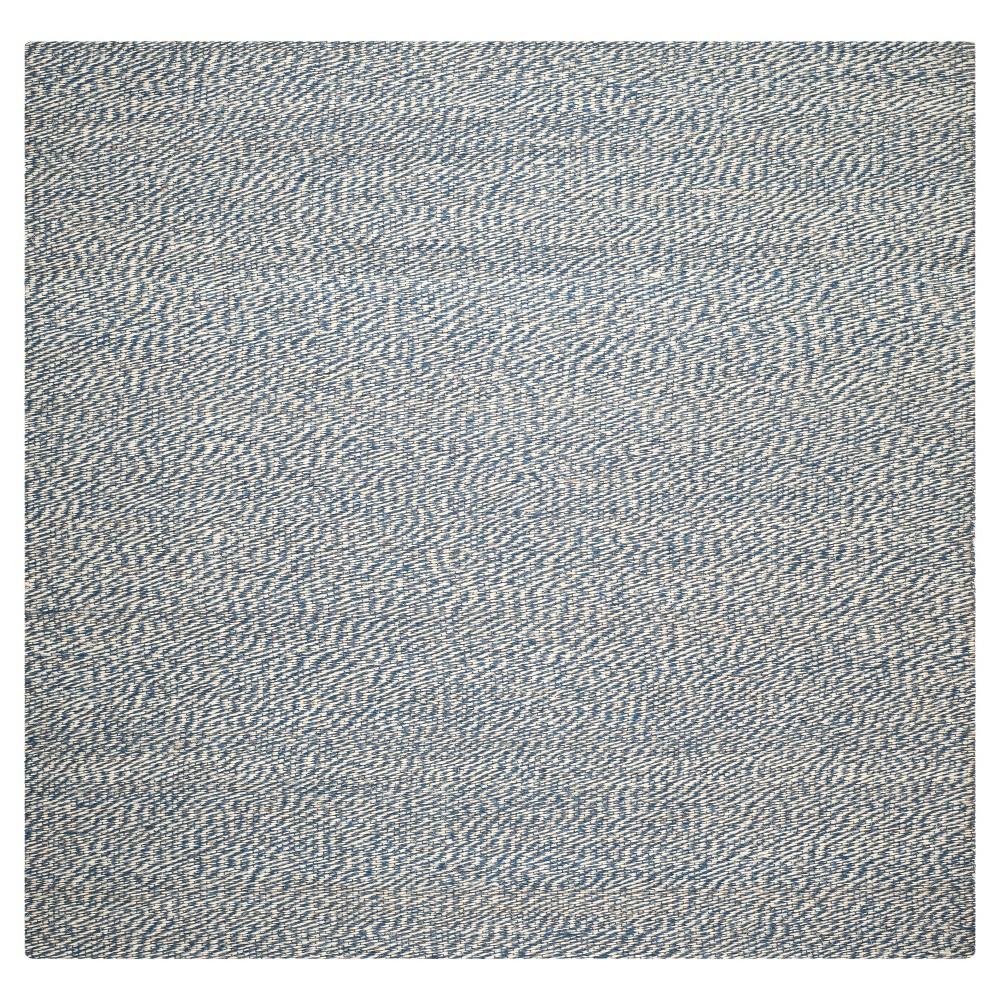 8'x8' Burst Area Rug Blue - Safavieh