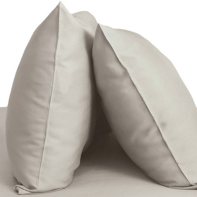 Standard 2pk 400 Thread Count 100% Viscose from Bamboo Resort Pillowcase Set Gray - Cariloha