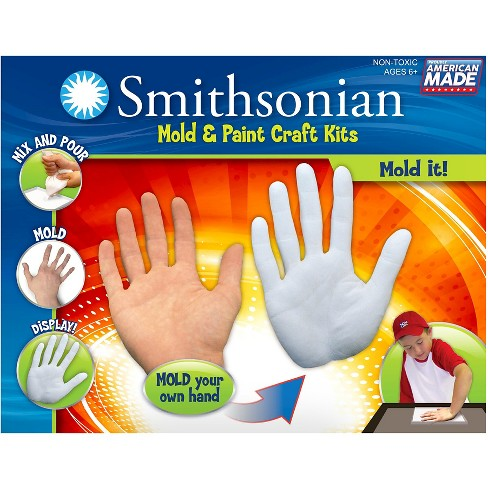 Smithsonian Mold & Paint Craft Kit - Hand Mold - image 1 of 1