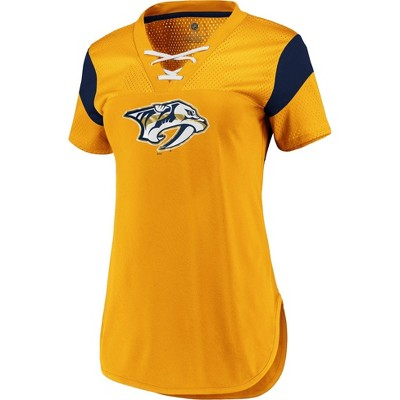 NHL Nashville Predators Women's Fashion Jersey - L