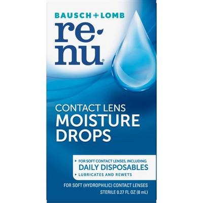 Renu MultiPlus Lubricating/Rewetting Contact Lens Drops - .27oz.