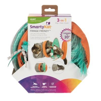 SmartyKat Fringe Frenzy Tunnel Cat Toy