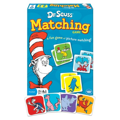 Dr.Seuss Matching Game - image 1 of 1