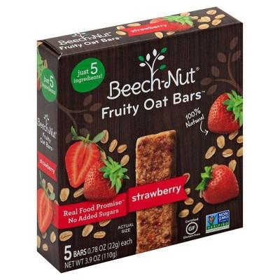 Baby & Toddler Snacks: Beech-Nut Fruity Oat Bars
