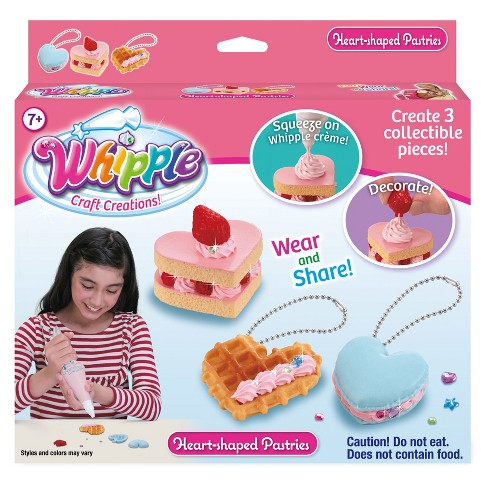 Whipple Heart Shaped Pastries Set Dessert Jewelry Kit - image 1 of 2