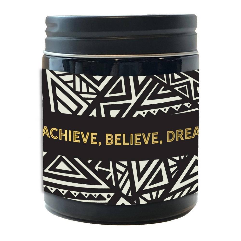 Image of DesignWorks Black Jar Candle South African Neroli