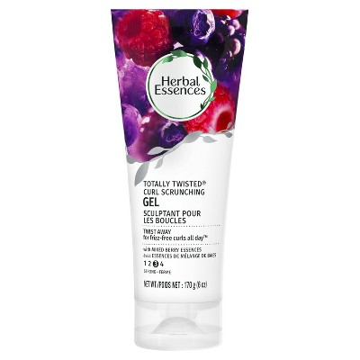 Herbal Essences Totally Twisted Curl Scrunching Gel With Berry Essences   6oz by Scrunching Gel With Berry Essences
